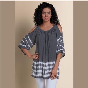 Soft Surroundings Cold Shoulder Tunic